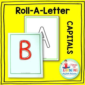 Capital Letter Play-Doh Mats