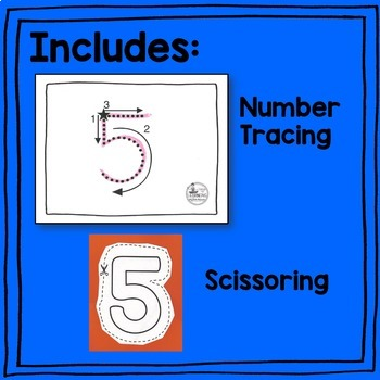 Number Handwriting Activities BUNDLE