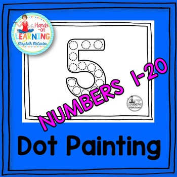 Number Dot Painting