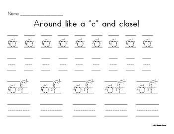 Handwriting: Group 1