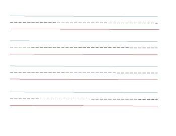 Handwriting Lines Bundle