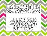 Handwriting A-Z (Uppercase and Lowercase Practice)