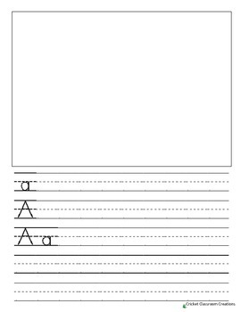 Handwriting: ABC Booklet