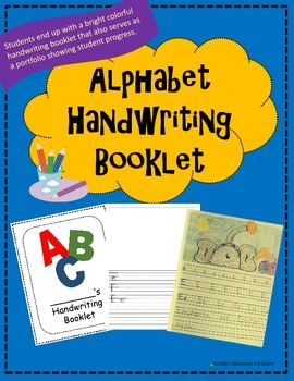 Handwriting: ABC Booklet