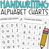 Handwriting Alphabet Charts