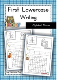 Handwriting - Alphabet Mazes {Lowercase Letters}