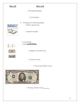 Handwriting AnalysisNotePacket