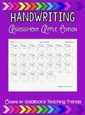 Handwriting Assessment