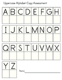 Handwriting Assessment (Alphabet and Numbers)