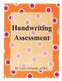 Handwriting Assessment Occupational Therapy Fine Motor Skills