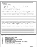 Handwriting Assessments A to Z with Sentences and Guides