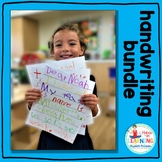 Handwriting BUNDLE - CLASSROOM and DISTANCE LEARNING