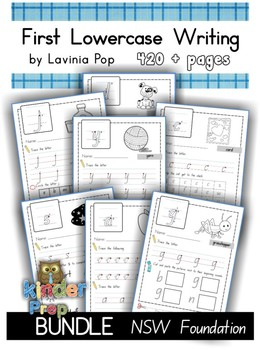 Handwriting - BUNDLE Lowercase Letters {NSW Foundation}