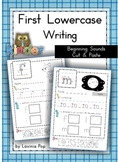 Handwriting - Beginning Sounds Cut & Paste {Lowercase Letters}