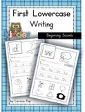 Handwriting - Beginning Sounds {Lowercase Letters}
