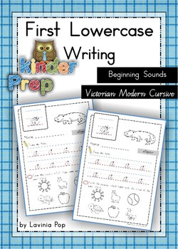 Handwriting - Beginning Sounds {Lowercase Letters} Vic. Mo