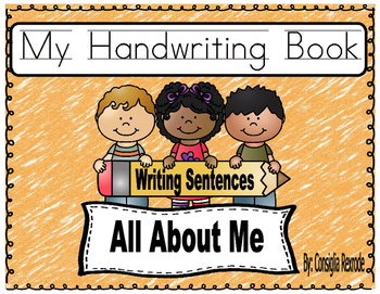 Handwriting Practice (All About Me)  Primary Grades