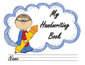 Handwriting Book Cover