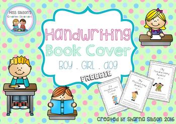 Handwriting Book Covers