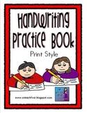 Handwriting Book Print Style