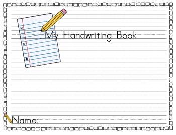 Handwriting Book Traditional Zaner Bloser