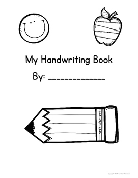 Handwriting Booklet {Freebie!}