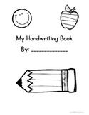 Handwriting Booklet {Freebie!}