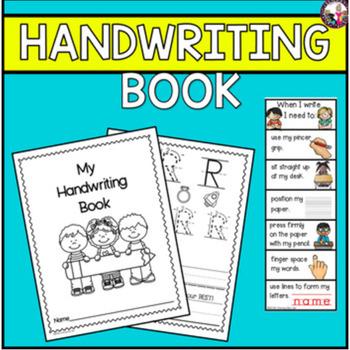 handwriting practice by literacy by lulu teachers pay teachers. Black Bedroom Furniture Sets. Home Design Ideas