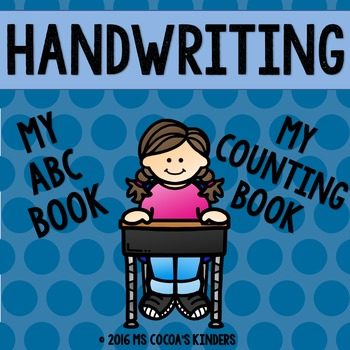 Handwriting Books - My ABC Book and My Counting Book