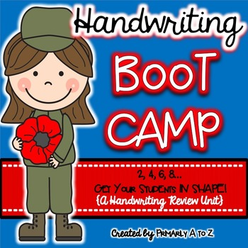 Handwriting Practice {Boot Camp!}