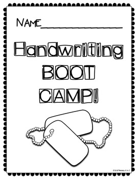 Handwriting Practice {Boot Camp!}