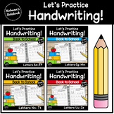 Handwriting Bundle | Letters A to Z