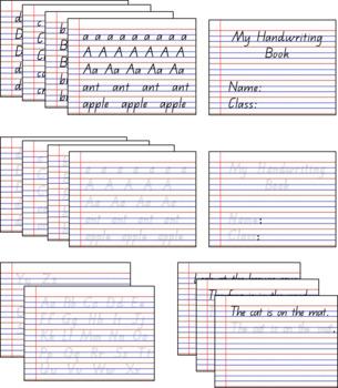 Handwriting Bundle- QLD Beginners Font