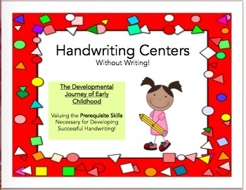 Handwriting Centers Without Writing!