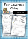 Handwriting - Circles and Lines {Lowercase Letters}