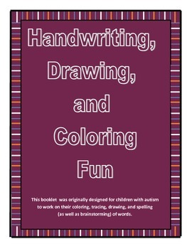 Handwriting, Coloring, and Tracing Workbook