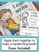 Handwriting Letters Review Pack