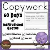 Handwriting Copywork -  Primary Handwriting Practice Pack
