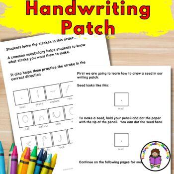 Handwriting Curriculum for Preschool/ Kindergarten/First Grade
