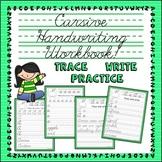 Cursive Handwriting Practice   Alphabet, Words & Sentences
