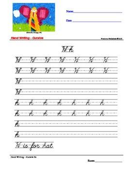 Handwriting Cursive Worksheets - Wondrous Worksheets