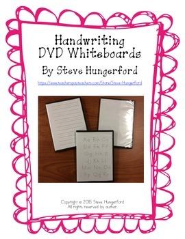 Handwriting DVD Whiteboards