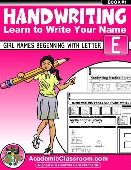 Handwriting Daily Practice Learn To Write Your Name Girl Names