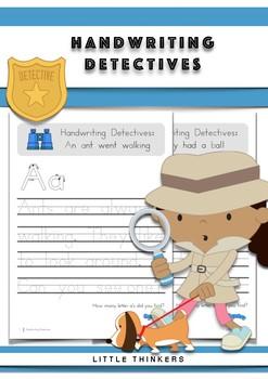 Handwriting Detectives - US Font