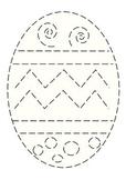 Handwriting Easter egg