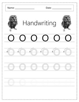 Handwriting Exercise - The Quick Brown Fox Jumps Over The Lazy Dog