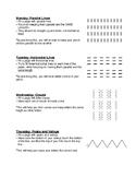 Handwriting Exercises