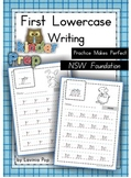 Handwriting - FREE Practice Makes Perfect {Lowercase Letters} NSW Foundation