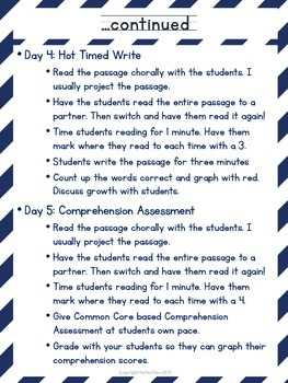 Handwriting Fluency: Common Core Based Literacy Skills for Grades 2-3