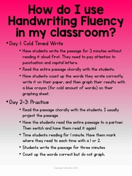 Handwriting Fluency: Common Core Based Literacy Skills for Grades 4-5